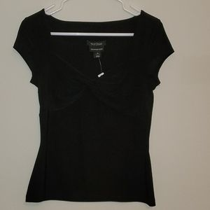 Black Fitted Top